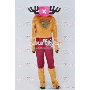 One Piece Cosplay Tony Tony Chopper Cotton Candy Lover Chopper Costume