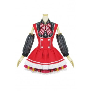 Love Live Cosplay Maki Nishikino Maid Dress Costume