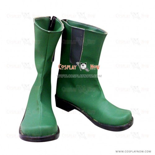 Digimon Adventure Takeru Cosplay Shoes Takaishi Green Boots