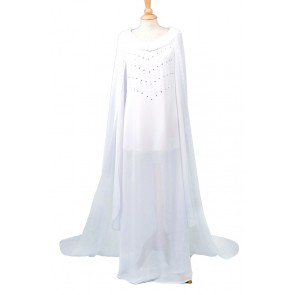Galadriel Fairy Queen Costume For The Hobbit Cosplay