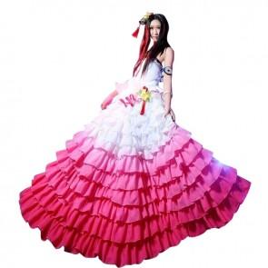 Blade Soul Nan Surou Cosplay Costume Dress