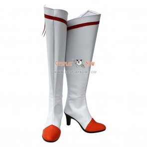 Smile Precure! Pretty Cure Cosplay Shoes Akane Hino Cure Sunny Boots
