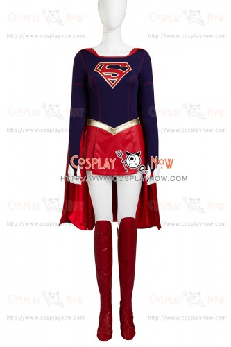 Supergirl Kara Zor El Costume For Superman Cosplay