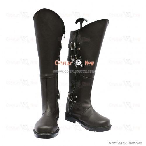 Hakuouki Cosplay Shoes Toshizo Hijikata Boots