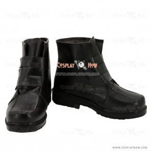 K Project Cosplay Shoes Mikoto Suoh Black Boots
