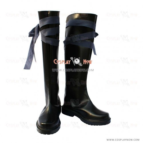 Tegami Bachi Cosplay Shoes Goos Suede Boots