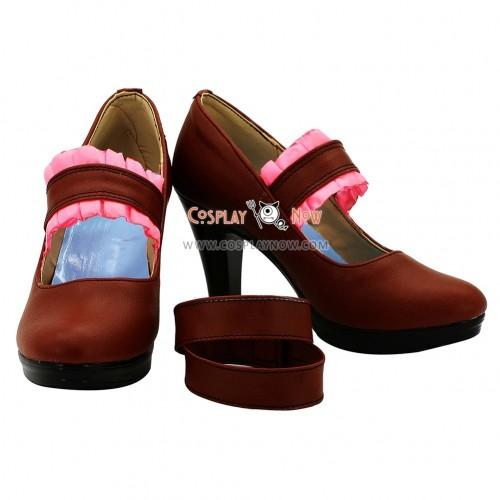 Chuunibyou Demo Koi ga Shitai Cosplay Takanashi Rikka Hight Heel Cosplay Shoes
