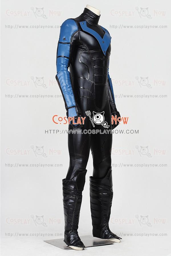 Batman Arkham City Cosplay Nightwing Costume