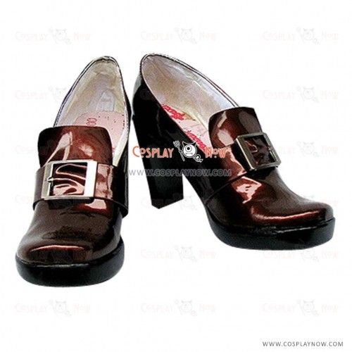 Black Butler Ciel Cosplay Shoes Brwon Custom-Made
