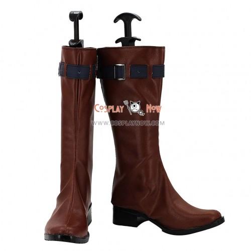 Karneval Cosplay Shoes Yogi Brown Boots