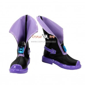 Hyperdimension Neptunia Neptune Cosplay Boots