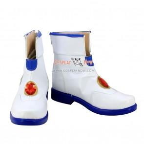 Magical Girl Lyrical Nanoha Nanoha Takamachi White Cosplay Shoes