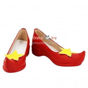 Cardcaptor Sakura Cosplay Sakura Kinomoto Red Shoes