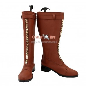 JOJO Cosplay Shoes Rohan Kishibe Boots