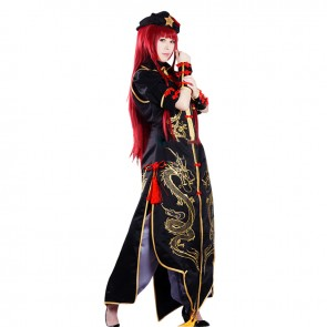 Touhou Project Cosplay Hong Meiling Costume