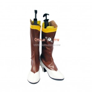 Tales of the Abyss Tear Grants Mystearica Cosplay Shoes Aura Fende Boots