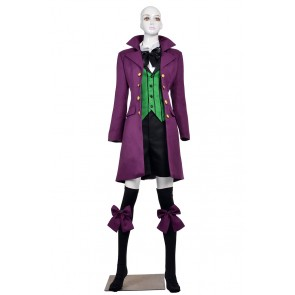 Alois Trancy Costume For Black Butler 2 II Cosplay