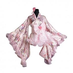Lolita Cosplay Universal Japan Kimono Dress Costume
