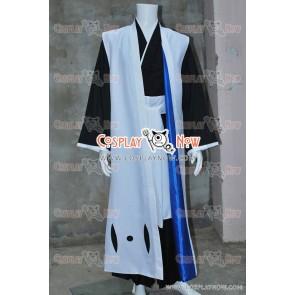 Bleach Cosplay 6th Squad Leader Byakuya Kuchiki Costume