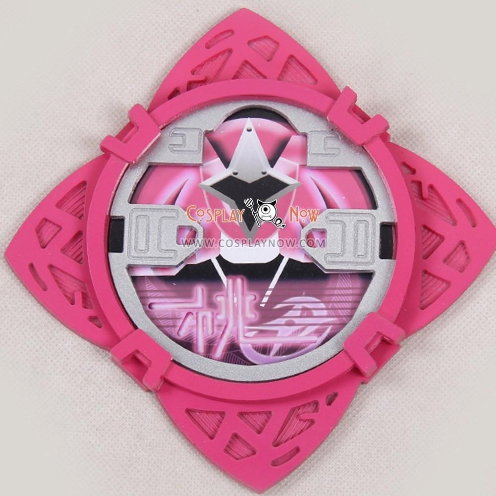 pink ninja cosplay shuriken weapon power rangers ninja steel cosplay