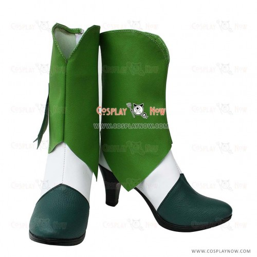 Smile Pretty Cure Cosplay shoes Midorikawa Nao Boots