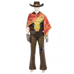 McCree Costume For Overwatch Cosplay Uniform