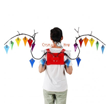 Touhou Project FLANDRE SCARLET Wings Cosplay Props