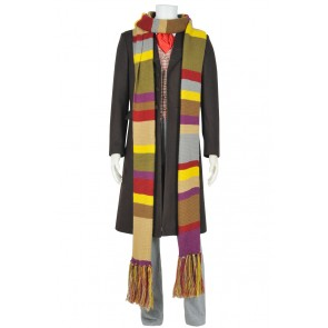 Doctor Who Fourth Dr Tom Baker Cosplay Costume