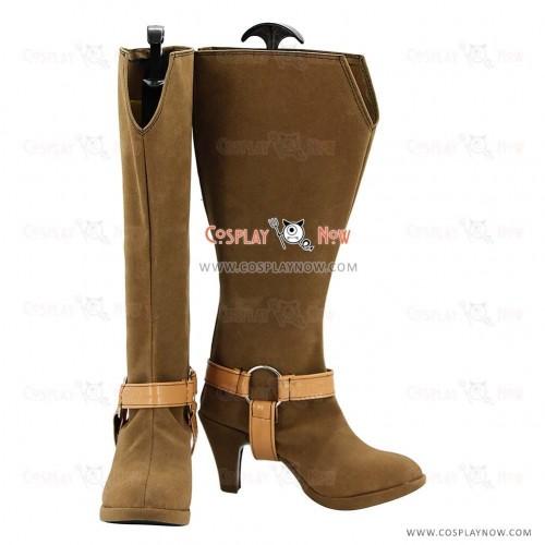 Umineko no Naku Koro ni Cosplay Shoes The Seven Stakes of Purgatory Boots