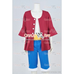 One Piece Straw Hat Luffy Monkey D Luffy Cosplay Costume