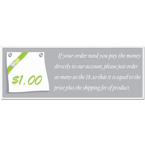 $1 Extra Fee
