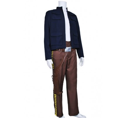 Star Wars The Empire Strikes Back Cosplay Han Solo Costume