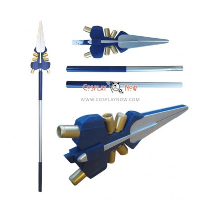 Details about Magical Girl Lyrical Nanoha Erio Mondial PVC Cosplay Props