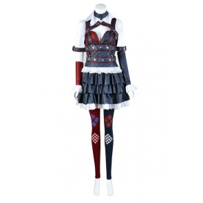 Harley Quinn From Batman Arkham Knight Cosplay Costume