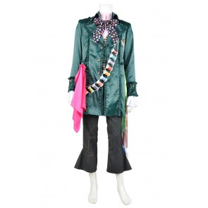 Alice Through The Looking Glass Cosplay Mad Hatter Costume