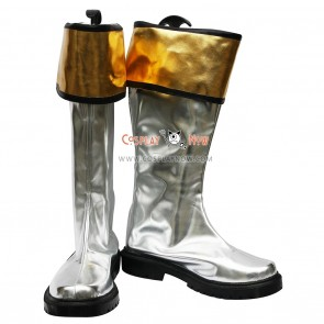 Power Rangers Cosplay Shoes White Ranger Boots