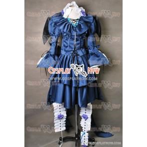 Pandora Hearts Alice Bloodstained Black Rabbit Cosplay Costume