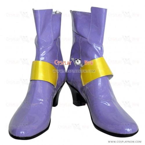 Magical Girl Lyrical Nanoha Cosplay Shoes Fate Testarossa  Boots