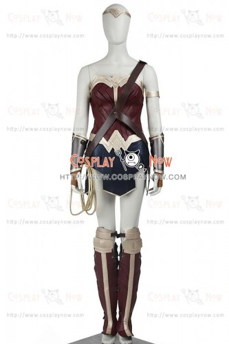 Wonder Woman Diana Prince Costume For Batman v Superman Dawn Of Justice Cosplay
