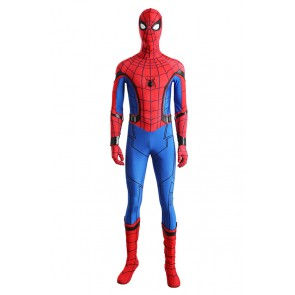 Spider Man Homecoming Peter Parker Cosplay Costume Jumpsuit