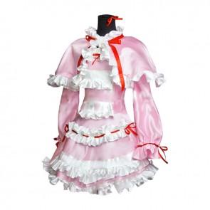 Another Misaki Fujioka Cosplay Costume Pink Dress