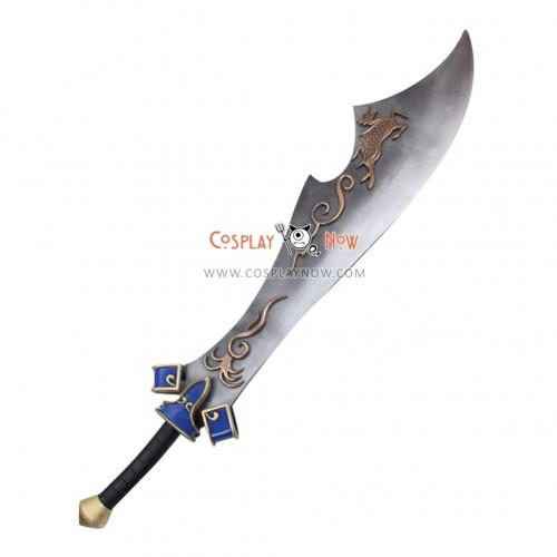 Dynasty Warriors Xiahou Dun Hsiahou Tun Big Sword PVC Replica Cosplay Props