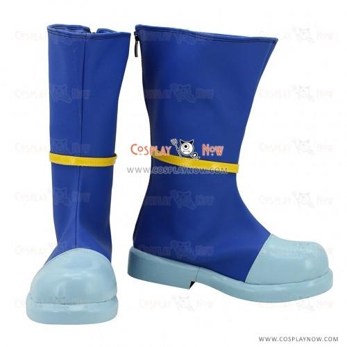 Oreimo Cosplay Shoes Gokou Ruri Blue Boots