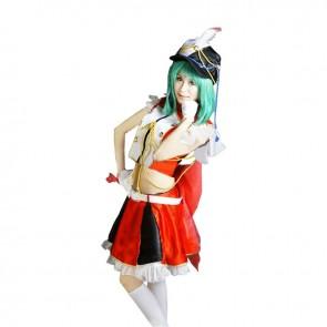 Macross Frontier Cosplay Ranka Lee Costume Dress