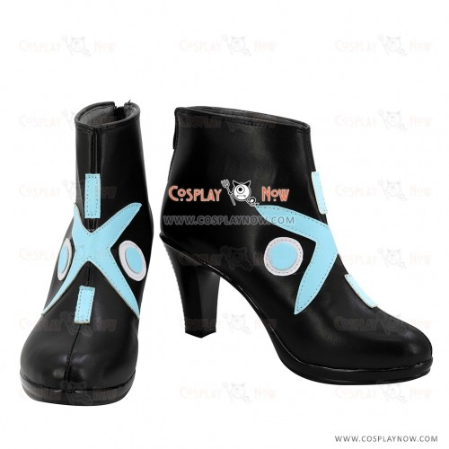 Fate Grand Order Mysterious Heroine X Black Shoes Cosplay Boots - A Edition