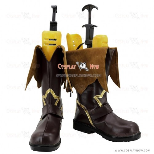 Tales of Berseria Cosplay Shoes Reaper Eizen Boots