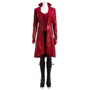 Scarlet Witch Costume For Avengers Age Of Ultron Cosplay Uniform