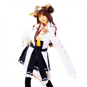 Kantai Collection Kongou Cosplay Costume Kimono