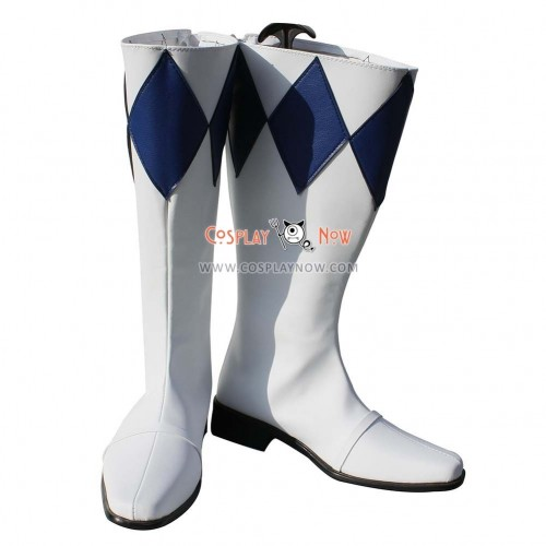 Power Rangers Cosplay Shoes Saber Tiger Boots