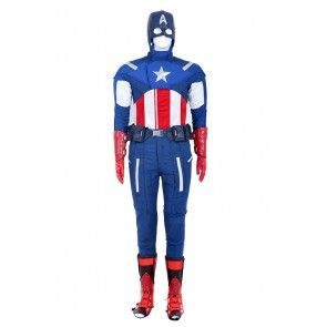 Steve Rogers Costume For The Avengers 1 Captain America Cosplay